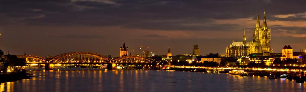 Köln am Abend header